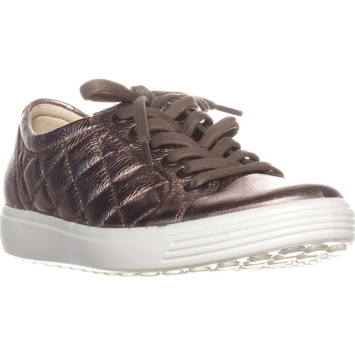 Womens ECCO Footwear Soft 7 Fashion Sneakers, Warm Grey by Ecco