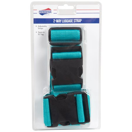 American Tourister 2 way Luggage Strap Blue Easy Go Luggage Strap