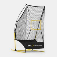 SKLZ Quickster 4-in-1 Football Trainer Lightweight Multi-Skill Training Net for Punting, Passing, Kicking and Snapping