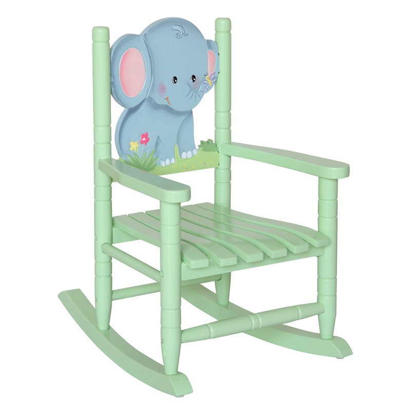 Teamson Kids Safari Rocking Chair Elephant