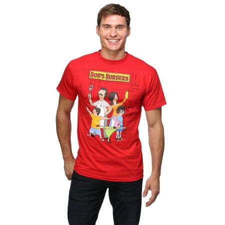 Self Portrait T-shirt - Bob's Burgers Family Portrait 18/1 T-Shirt