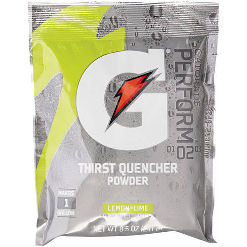 Gatorade Original Powdered Drink Mix Lemon-Lime, 8.5 oz, (Pack of 40)