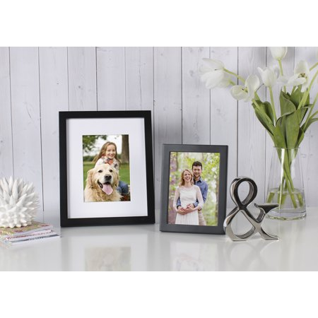 Better Homes and Gardens Black Picture Frame, 16\