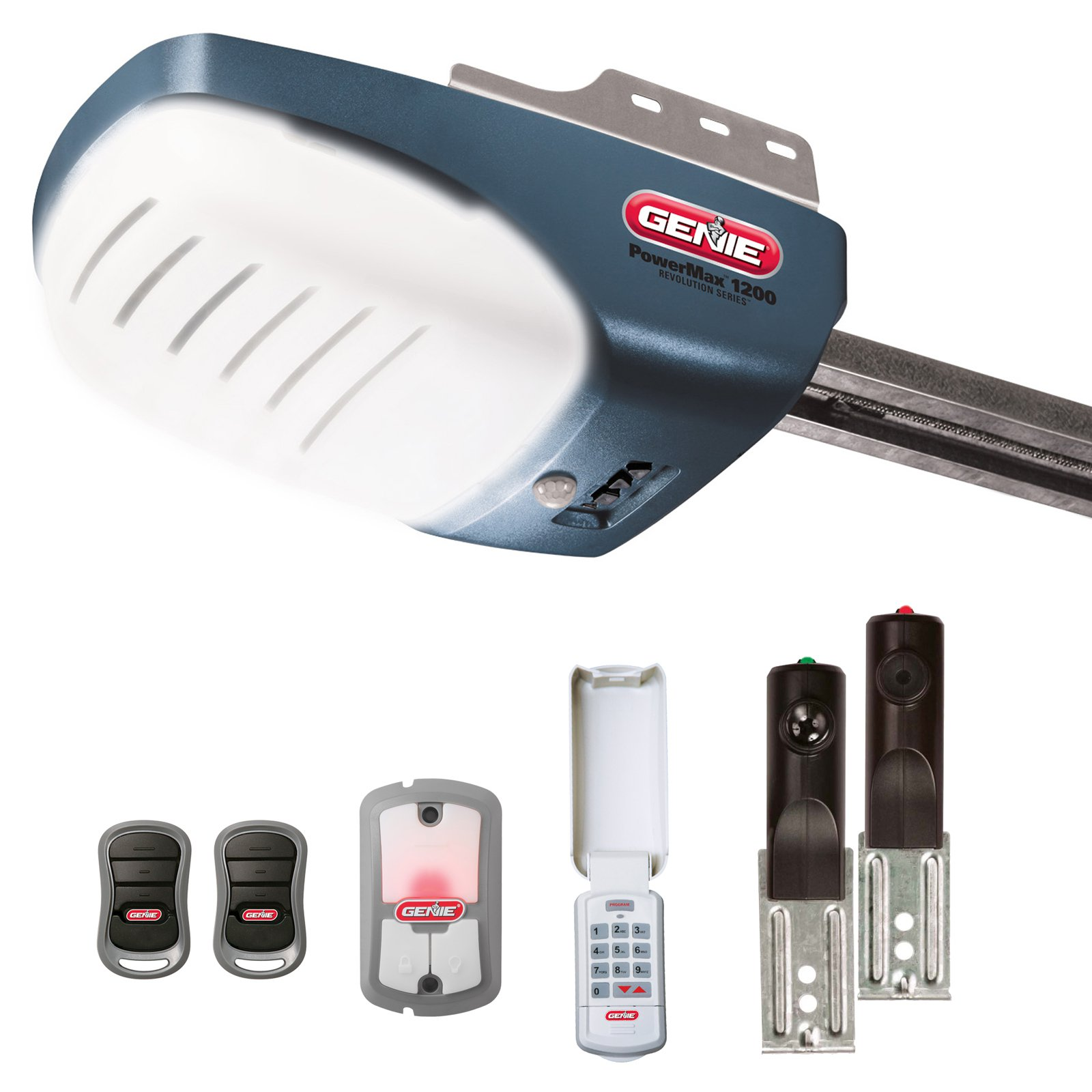 Genie 37282r Garage Door Opener with 3/4+ HPc DC Screw