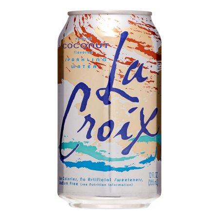 LaCroix Sparkling Water, Coconut, 12 Fl Oz, 8 Count