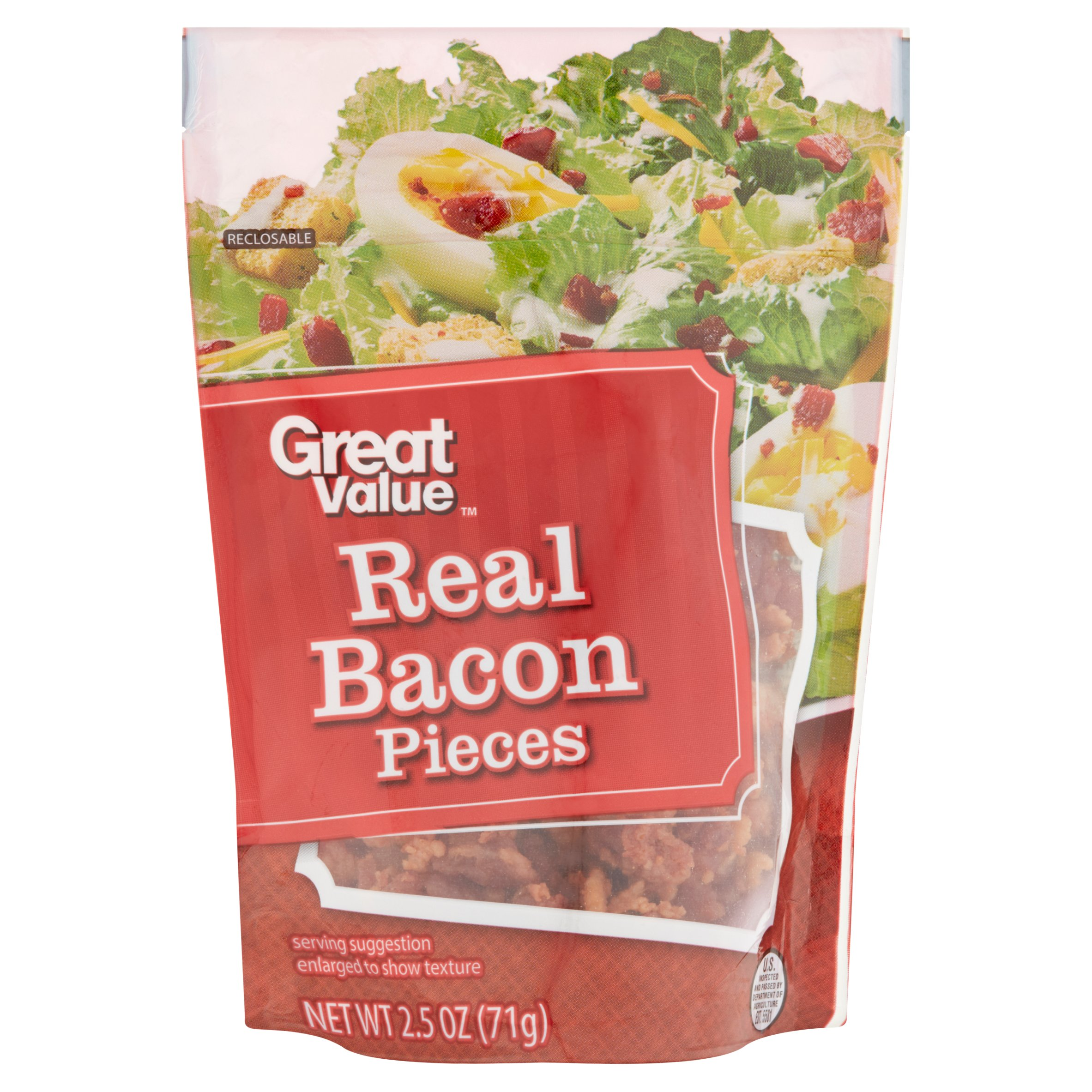 Great Value Real Bacon Pieces, 2.5 oz by Wal-Mart Stores, Inc.