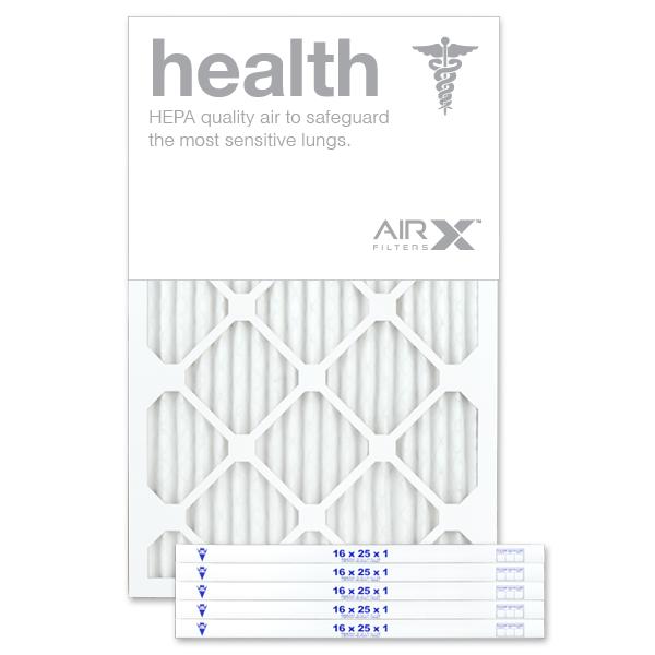 Nordic Pure 16/_3//8x21/_1//2x1 Exact MERV 13 Tru Mini Pleat AC Furnace Air Filters 6 Pack