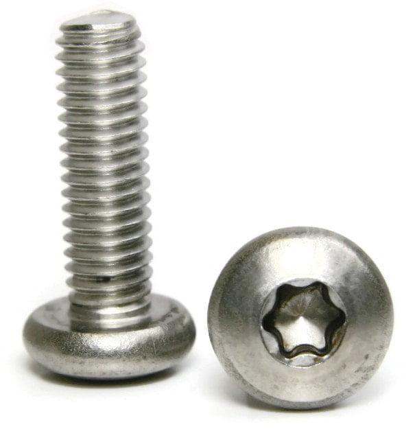 #10-32 x 1/2 Torx Pan Head Machine Screws 18-8 Stainless Steel QTY 25