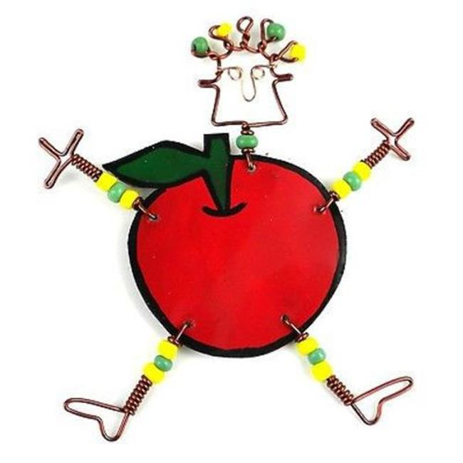 Handmade Dancing Girl Rosy Apple Pin - image 1 de 1
