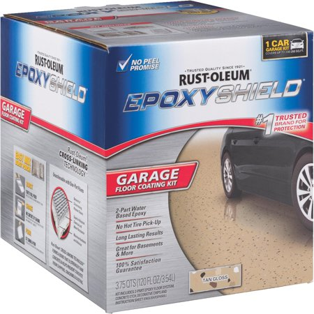 Rust Oleum Epoxyshield Garage Floor Coating Kit Walmart Com