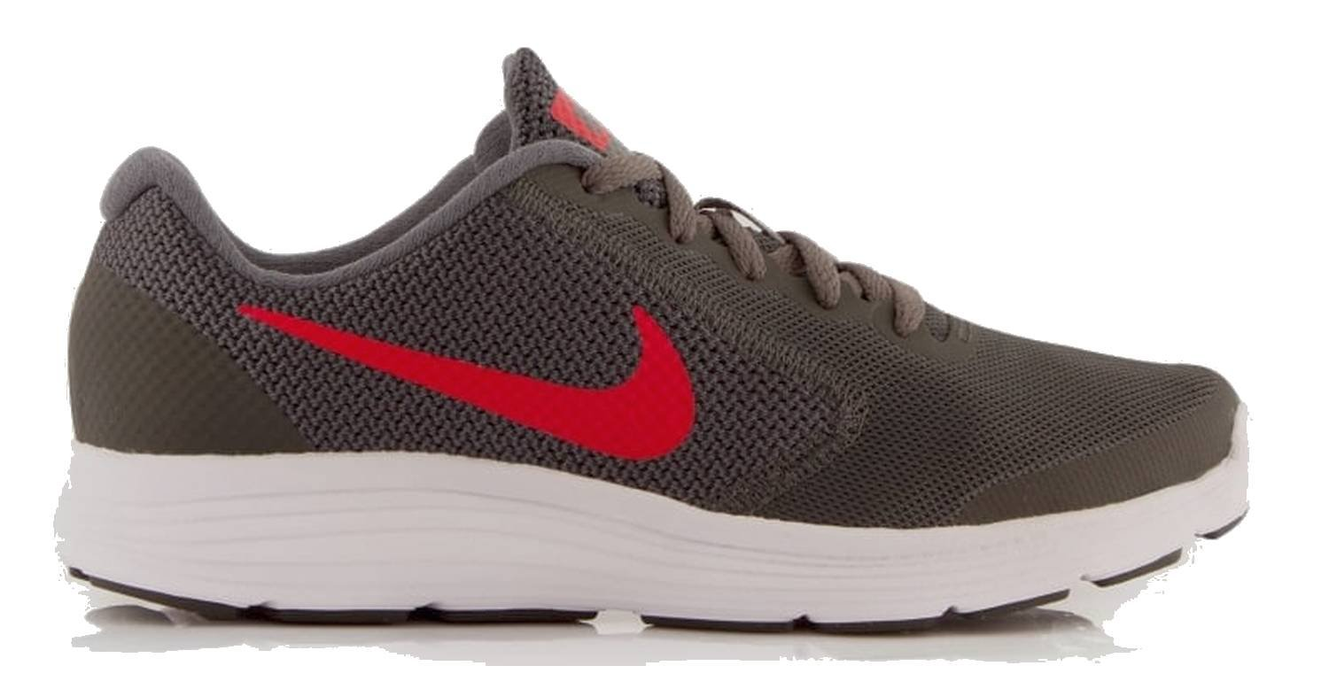 Nike 819413-011 : Kid\u0027s Revolution 3 GS Running Shoes Black/Red (5 M US Big  Kid) - Walmart.com