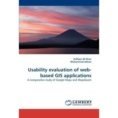 Usability Evaluation Of Web Based Gis Applications