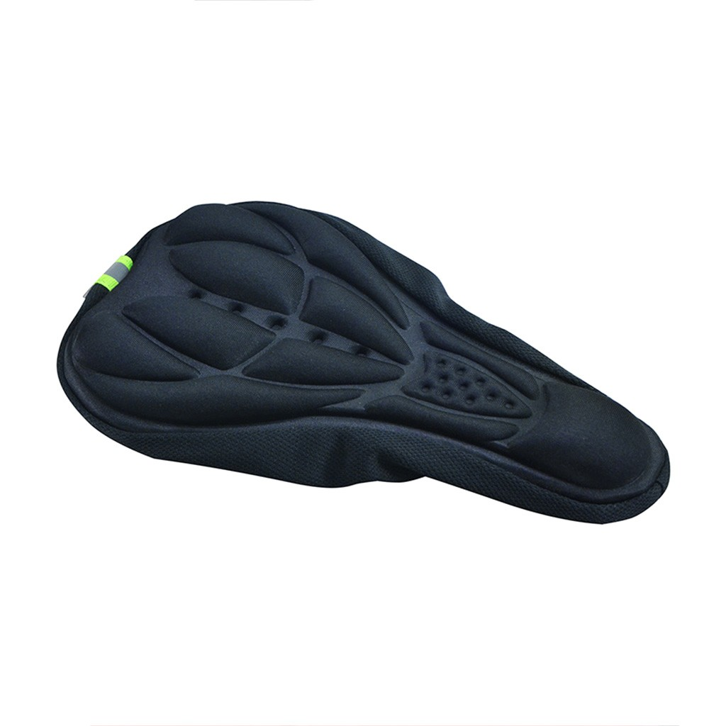 3D Cycling Bike Bicycle Extra Comfort Silicone Seat Saddle Cover Pad Gel Cushion