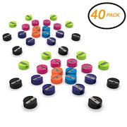 40PK Super Great Single Hole Round Pencil & Crayon Sharpener Works for Regular Pencils, Crayons, and Color Pencils, Sold in Assorted Color – Great for School, Home, & Office (40 Pack)