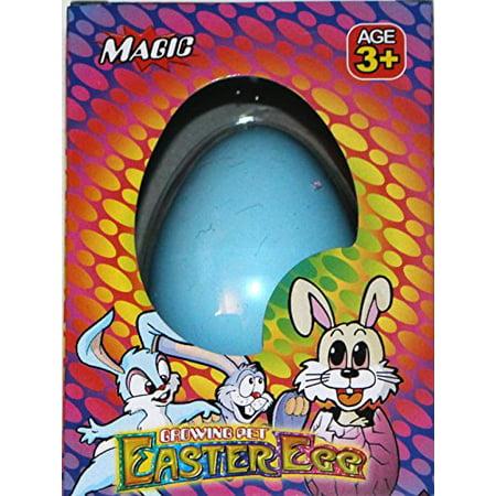Easter Egg Magic Hatching Egg Growing Pet, Blue Bunny](Blue Easter Eggs)