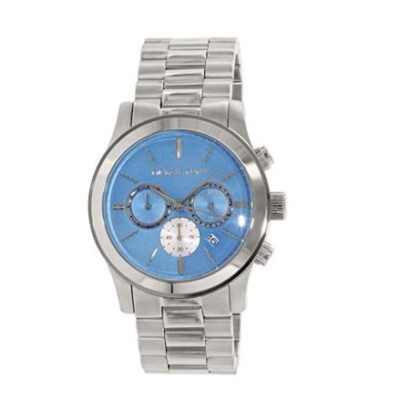Michael Kors MK5953 Runway Teal Face Oversized Watch for Women (Oversized Runway Watch)