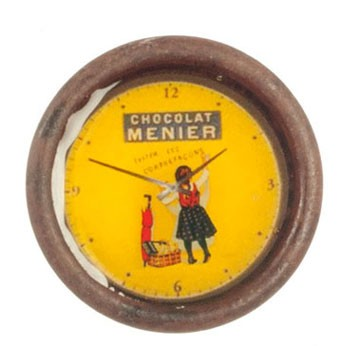 Dollhouse Chocolate Menier Wall Clock