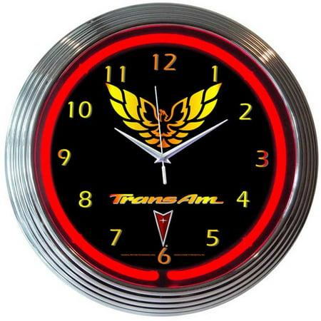 - Neonetics 11'' Trans Am Wall Clock