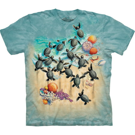 100% Cotton Turtle Hatch Awesome Youth T-Shirt (Small) (Hatch Screen)