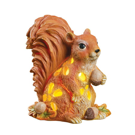 Solar Cutout Animal Statues Outdoor Garden Décor, -