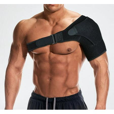 Adjustable Compressor (Adjustable Shoulder Support Brace Strap Joint Sport Gym Compression Neoprene NEW)