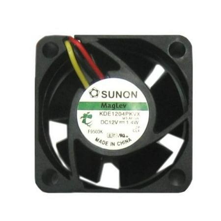 Sunon 40mm 20mm 3 pin Cooling Fan, Computer, Arcade or Case Fan, KDE1204PKVX ()