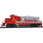 Walthers Trainline HO Scale EMD GP9M Diesel Locomotive Santa Fe/ATSF #2092