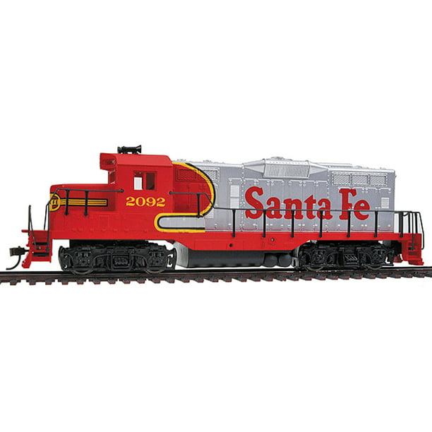 Walthers Trainline Ho Scale Emd Gp9m Diesel Locomotive Santa Fe Atsf 2092 Walmart Com Walmart Com