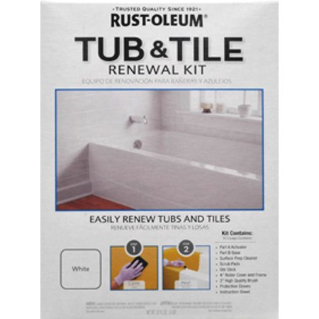 Rust Oleum Speclt Qt Kit 2pk Tub Tile Renewal Wm - Walmart.com