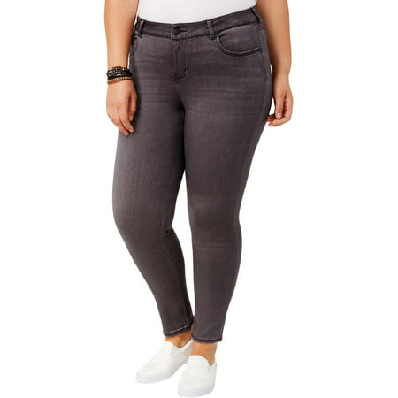 Celebrity Pink Womens Plus Walkers Super Soft Mid-Rise Skinny Jeans