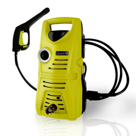 SereneLife SLPRWAS23 - Home & Garden Pressure Washer - Compact Electric Outdoor Power Washer (1160-PSI,