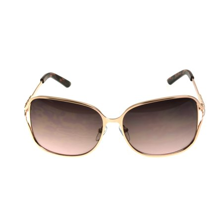 Foster Grant Women's Rose Gold Square Sunglasses I03