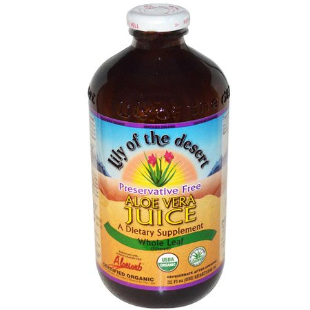 Lily Of The Desert Organic Whole Leaf Aloe Vera Juice (1x32 Oz) Desert Whole Leaf Aloe