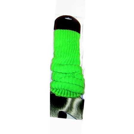 Neon Green Leg Warmers (Pair) Rave Club 80's 1980's Dancer Lauper Madonna