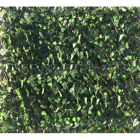 Perfectmaze Expandable Faux Ivy Trellis Hedge Plant for Both Outdoor / Indoor Backdrop Garden Backyard Home Decorations Greenery / Privacy Screen Panels