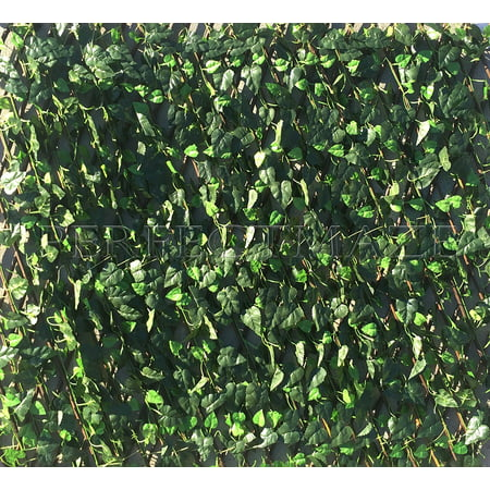 Perfectmaze Expandable Faux Ivy Trellis Hedge Plant For