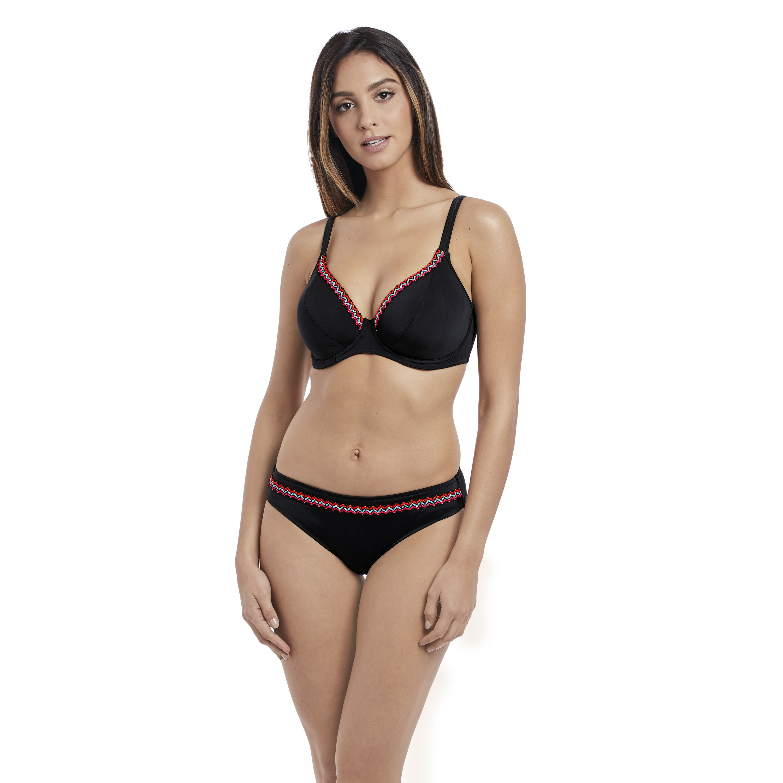 7cadd9e267 Freya - Freya Womens Mariachi Underwire Padded Plunge Bikini Top ...