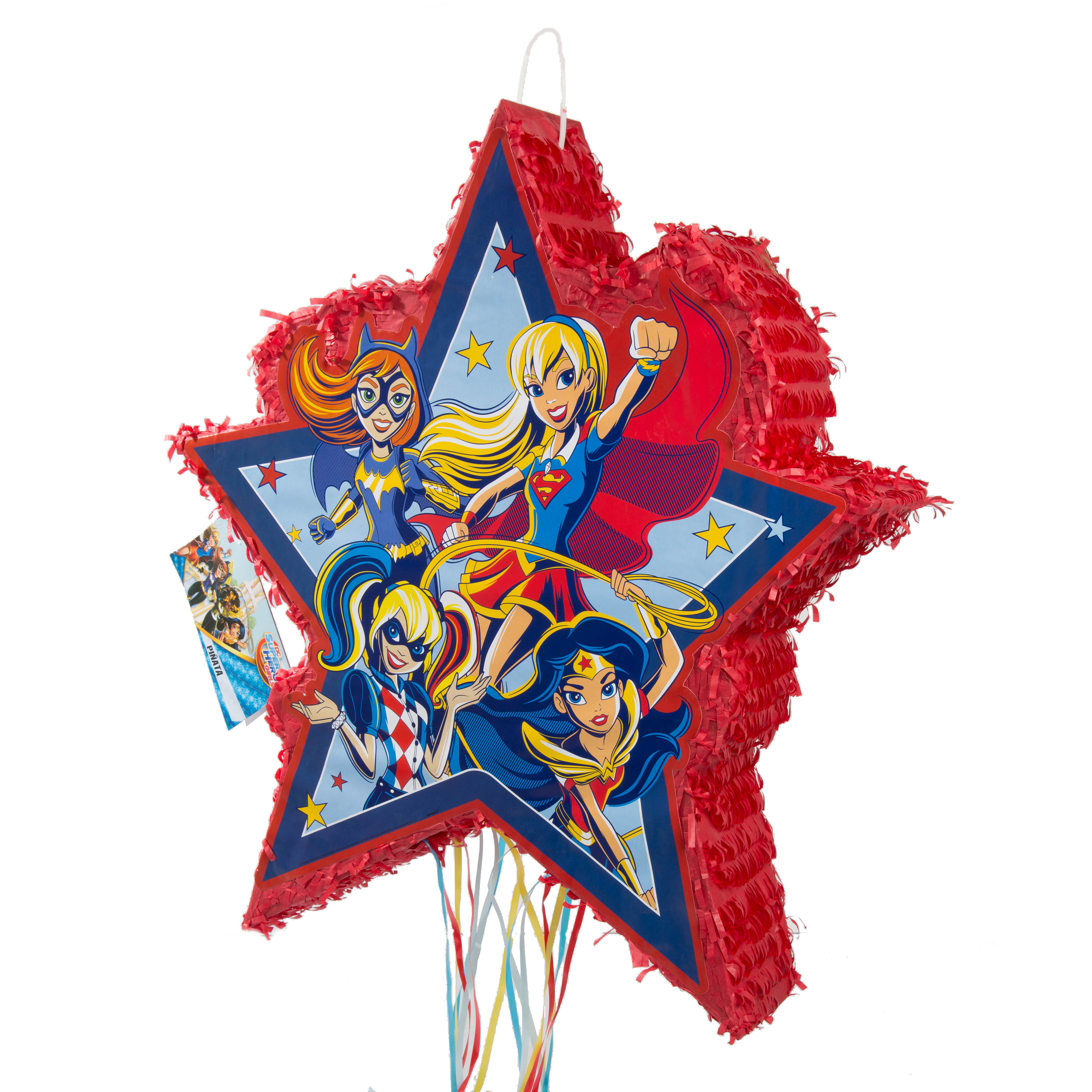 Super Hero Girls Pinata, Pull String