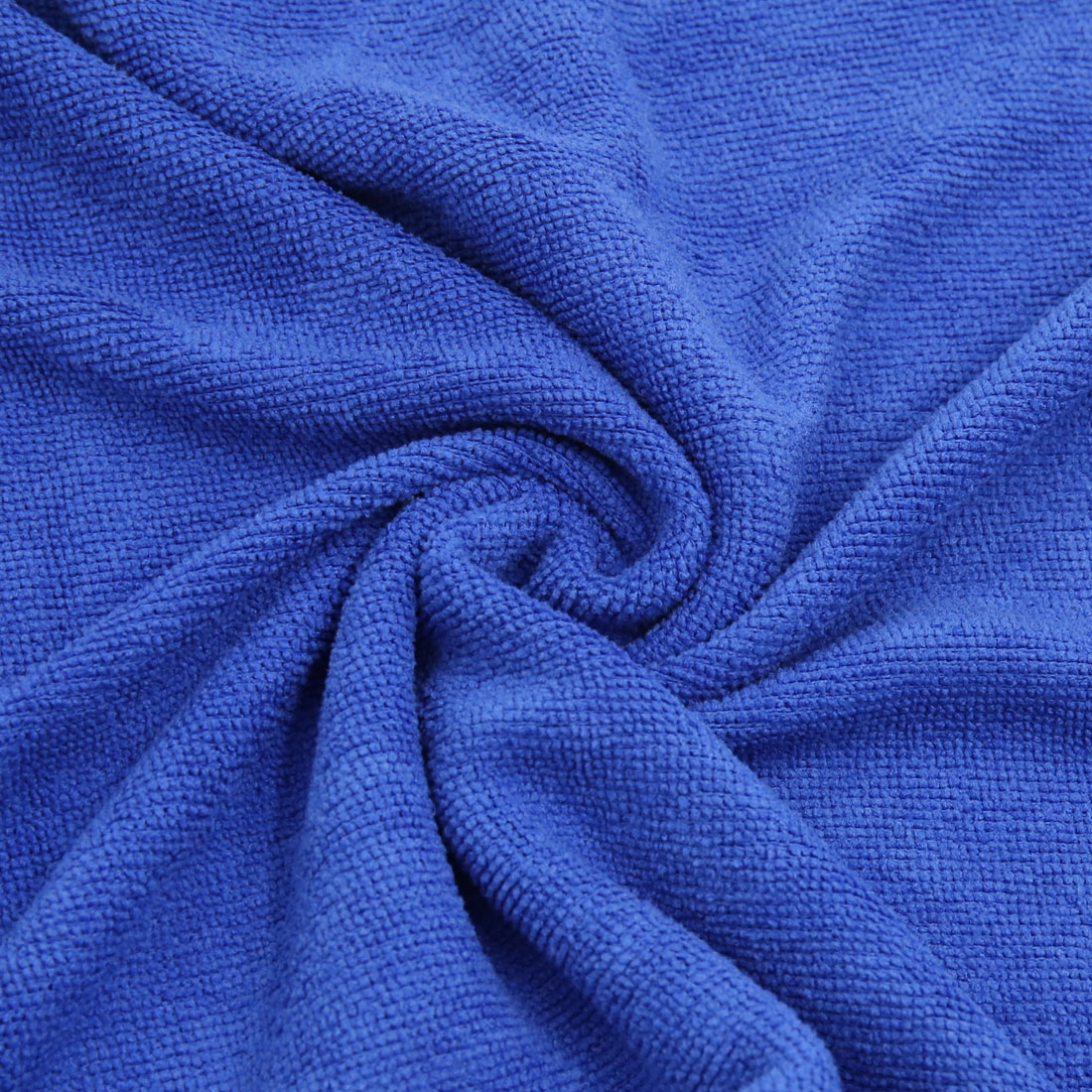 3pcs 250gsm 65 x 33cm Blue Green Coffee Color Microfiber Cleaning Towel for Car - image 4 of 7