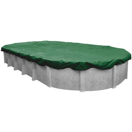 Robelle Next-Generation RIPSHIELD Optimum Winter Cover for Oval Above-Ground Pools