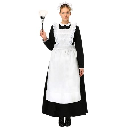 Womens Traditional Maid Plus Size Costume - French Maid Costumes Plus Size