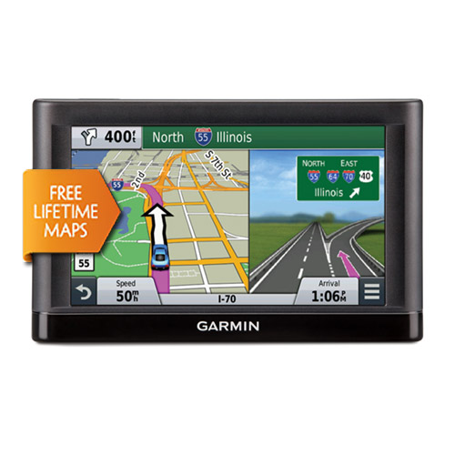 Refurbished Garmin Nuvi 65LM (Lower 49 States) 6 inch GPS with Lifetime Map Updates