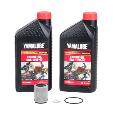 Oil Change Kit With Yamalube All Purpose 10W-40 for Yamaha TTR230 2011-2017