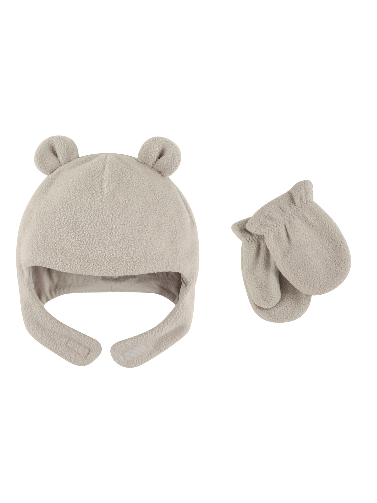 Toddler Unisex Fleece Hat & Mittens 2pc Set
