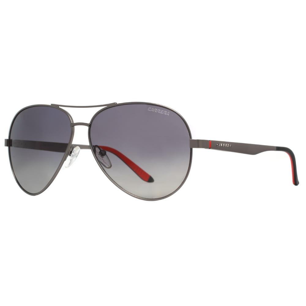 4f480e434ef Carrera - Carrera CA 8010 S 003 M9 Matte Black Gray Polarized Aviator  Sunglasses - Walmart.com