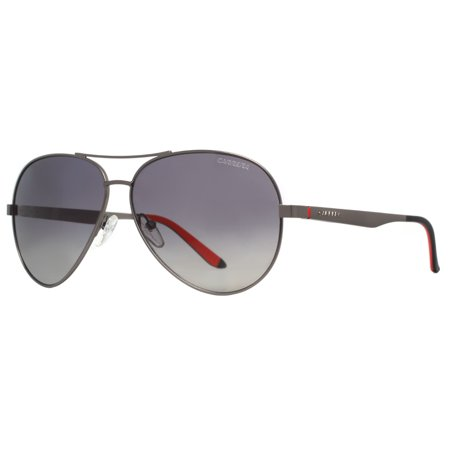 be5b5b6a25 CARRERA - Carrera CA 8010 S R80 WJ Semi Matte Dark Ruthenium Polarized Aviator  Sunglasses - Walmart.com