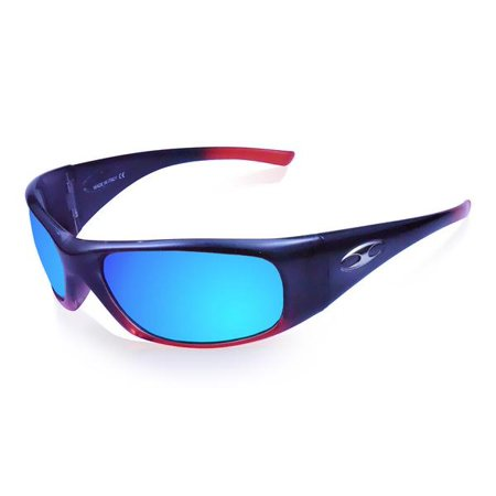 d3863417bc9 Icicles - ICICLES Agent Blue Mirror Lens Sunglasses with Orange Fade Frame  Color - Walmart.com