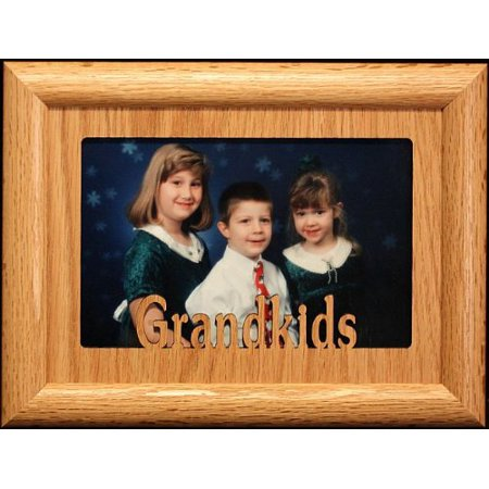 Grandkids Landscape Picture Frame Holds A 4x6 Or Cropped