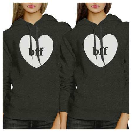 365 Printing Bff Hearts Funny Matching Hoodies For Best Friend