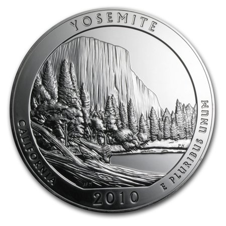 - 2010 5 oz Silver ATB Yosemite National Park, CA